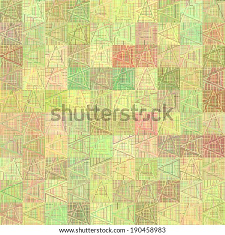 Seamless patterns (tiling) - stock vector
