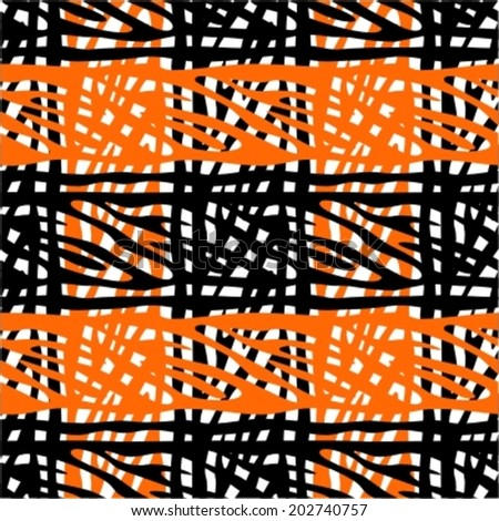Seamless plaid pattern  - stock vector