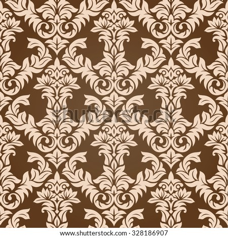 Seamless repeating pattern vector illustration. Saved in EPS 8 file. Well designed for easy editing.  - stock vector