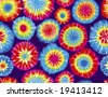 Seamless Repeating Tie Dye Background - stock vector