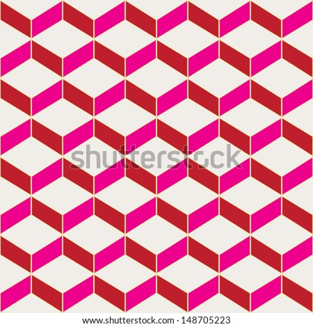 Seamless repeating tile background.Vector EPS10 - stock vector