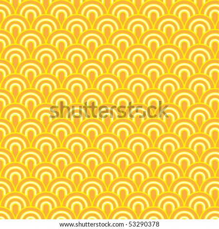 Seamless retrò pattern - stock vector
