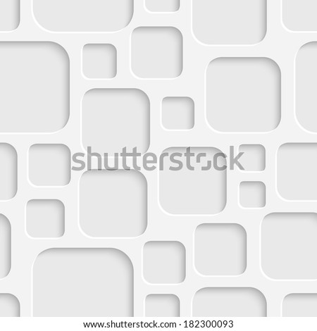 Seamless Squares Background - stock vector