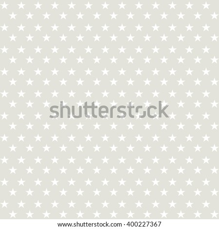 Seamless stars texture. Vector simple seamless background with star for wrapping, patriotic and holiday paper design. - stock vector