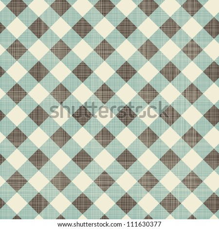 seamless textile quilt pattern - stock vector