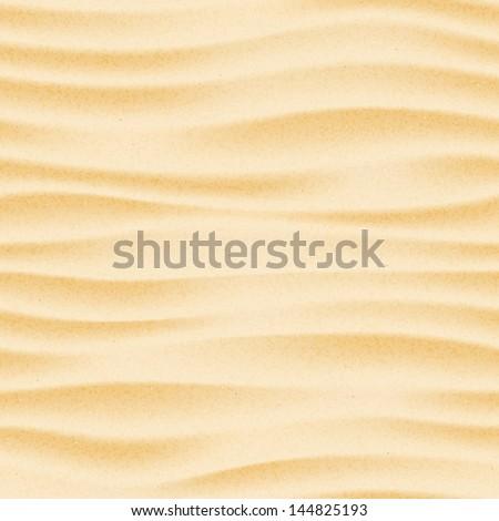 Seamless texture of sand beach. Sand background template. Sand beach - stock vector