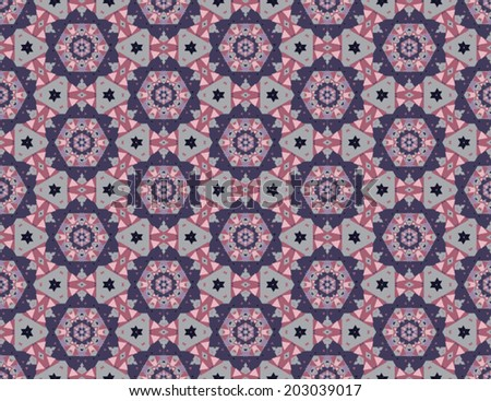 Seamless triangle pattern ,abstract pattern   - stock vector