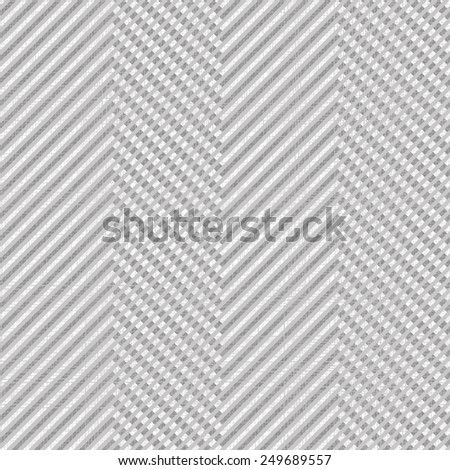 seamless tweed pattern in grey and white - stock vector