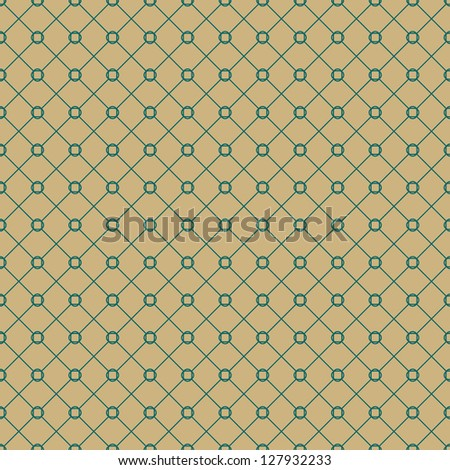Seamless vector geometric tile pattern background - stock vector