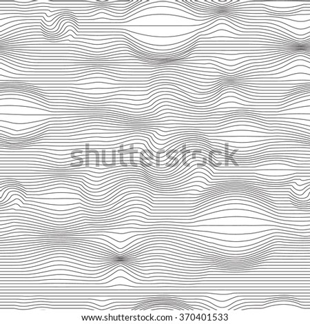 Seamless vector illustration with graphic lines element. Eps-8. - stock vector