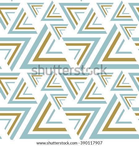 Seamless vector patterns. Blue and gold seamless background. Vector illustration EPS10 - stock vector