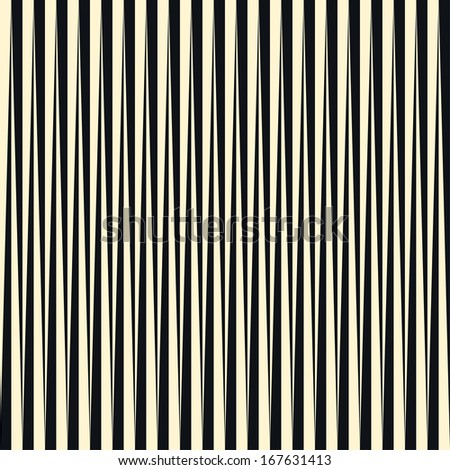 Seamless vector striped  background pattern - stock vector