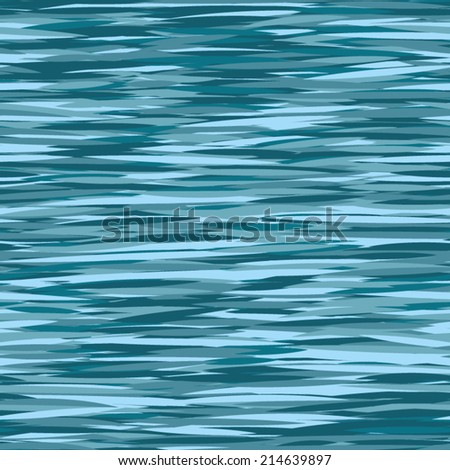 seamless water pattern. - stock vector