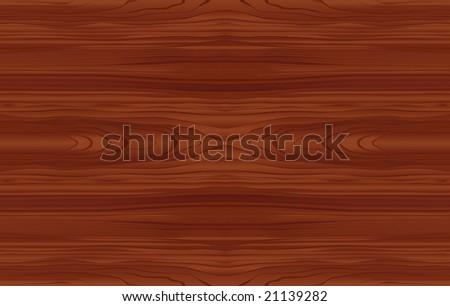 Seamless Wood Pattern Tile (Vector) - stock vector