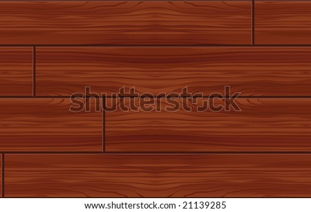 Seamless Wood Pattern Tile (Vector) - stock vector