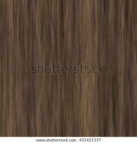 Seamless wooden striped fiber textured background. High quality high resolution wood texture. Dark hardwood part of parquet. Close up brown grainy surface plywood floor or furniture. Old timber panel. - stock vector