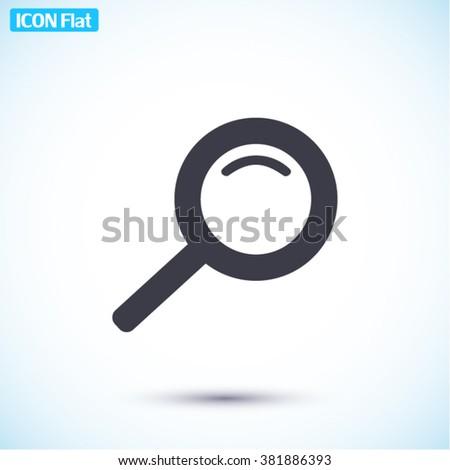 Search Icon, Search icon flat, Search icon picture, Search icon vector, Search icon EPS10, Search icon graphic, Search icon object, Search icon JPEG, Search icon picture, Search icon image - stock vector