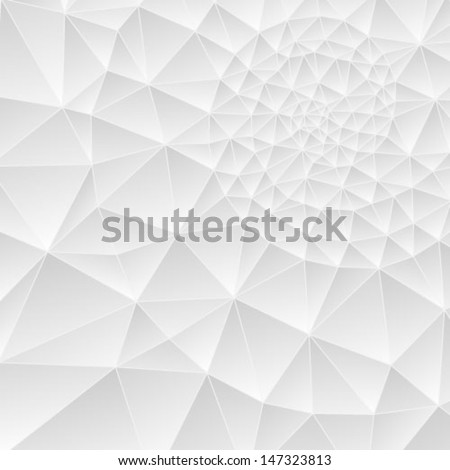 Section of nautilus shell - stock vector