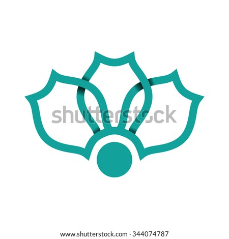 Seljuk pattern - stock vector