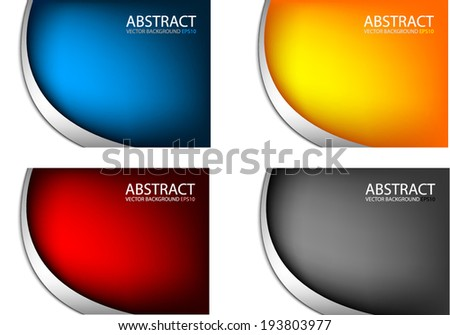 set background and silver line on black background vector abstract for text and message design - stock vector