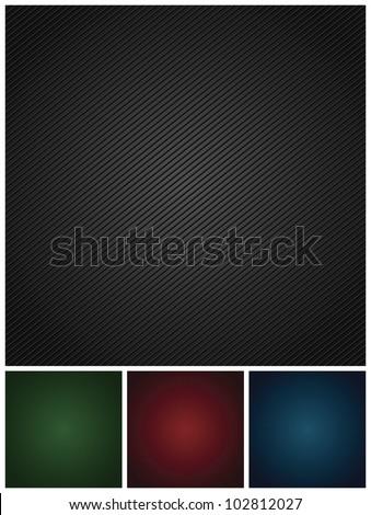 Set colors corduroy textures backdrops - stock vector