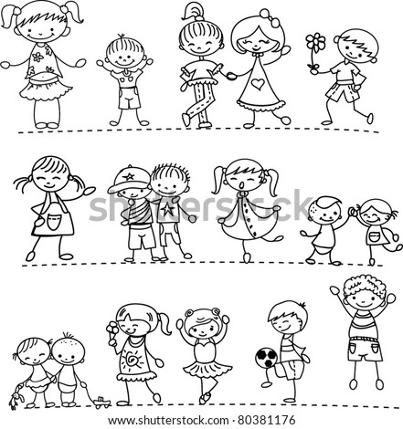 Stock Vector Cute Boy And Girl Sitting On School Backpack Happy Children Detailed Vector Illustration With in addition Crazy face t Shirts moreover Aprende A Dibujar Manga Anime further Search Vectors moreover  on different race of people smiling cartoon