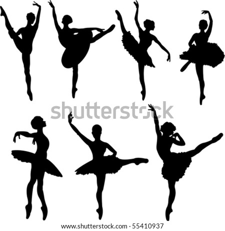 Ballerina Silhouette Stock Photos, Images, & Pictures ...