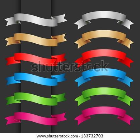 Set of banner - stock vector