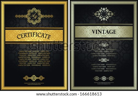 modern award certificate templates .