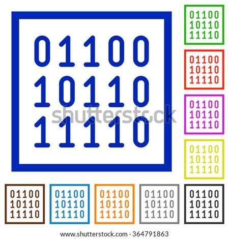 Binary color code