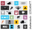 SET OF COOL ICONS & SYMBOLS - stock vector