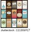 set of creative name card design - stock vector