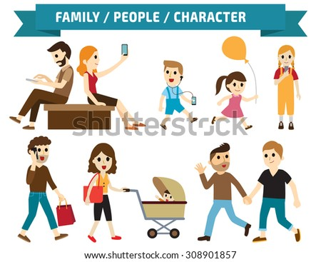 Set of full body diverse business people.Different nationalities and dress styles.character cartoon concept.flat modern design. on white background.asian,arab,african,european,american,china, - stock vector