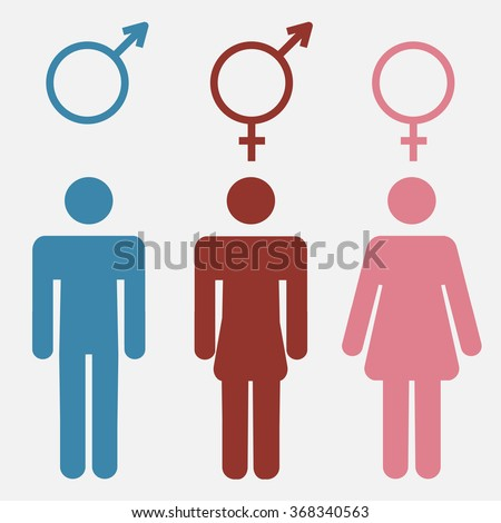 stock-vector-set-of-gender-symbols-with-
