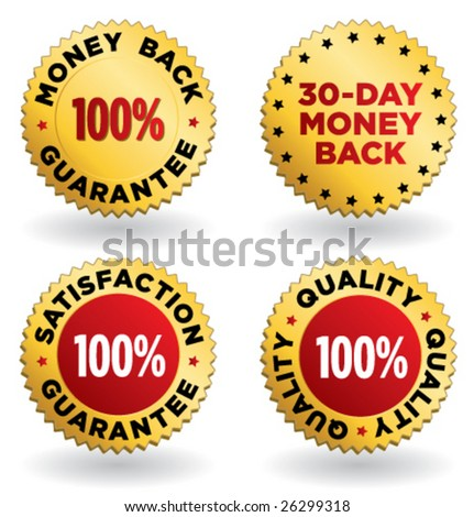 set of gold and silver labels for retail vol. 2 - stock vector