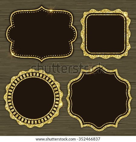 Gold Glitter Stock Photos, Images, & Pictures Shutterstock