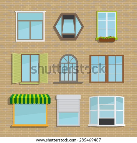 Window shutters stock photos images pictures shutterstock - Types shutters consider windows ...