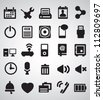 Set of Internet icons - part 2 - vector icons - stock vector