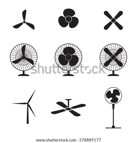 Ceiling Fan Blades Stock Vectors Amp Vector Clip Art