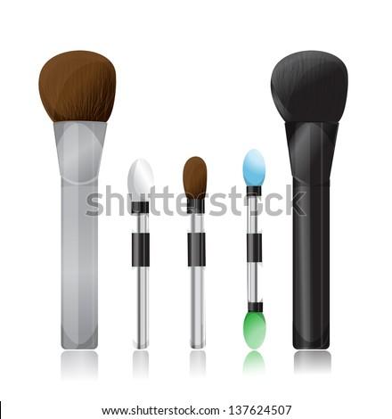 makeup brush vector - photo #27