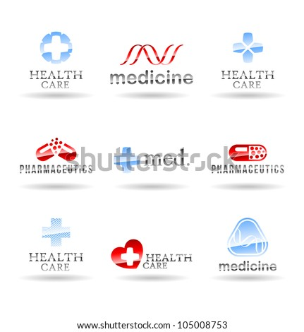 Set of medical icons. Set 3. - stock vector