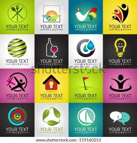 Set of Modern Vector Icons. Graphic Design Editable For Your Design.  - stock vector