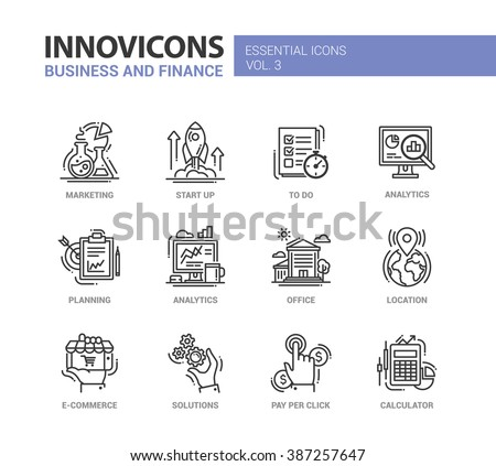 Location pictogram Stock Photos Images Pictures