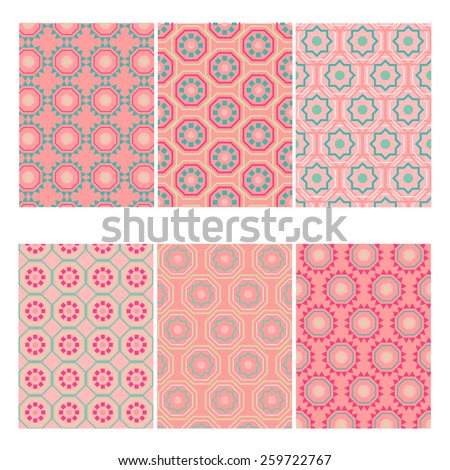 Set of perfect vector card templates. Ideal for  baby shower, mothers day, valentines day, birthday cards, invitations. - stock vector