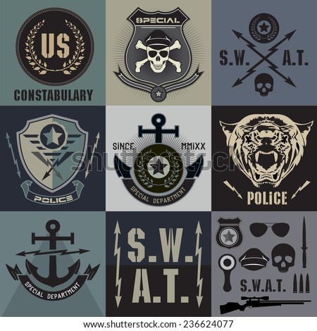 law enforcement symbols - photo #42
