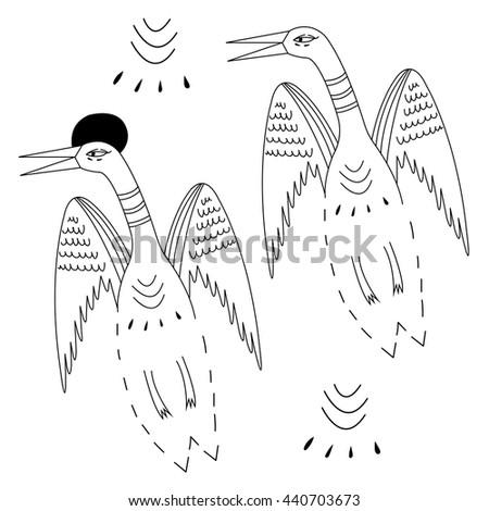 top asian stork tattoo designs images for pinterest tattoos. Black Bedroom Furniture Sets. Home Design Ideas