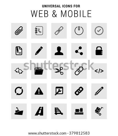 style. Vector illustration web internet design elements - stock vector