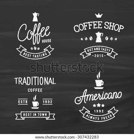 Stock vector set of vintage labels logo templates for for Classic house labels