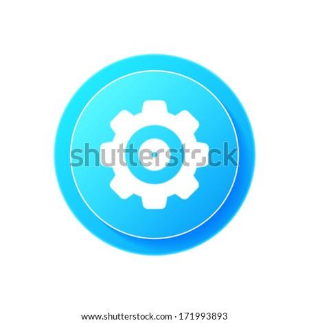 Settings icon - stock vector