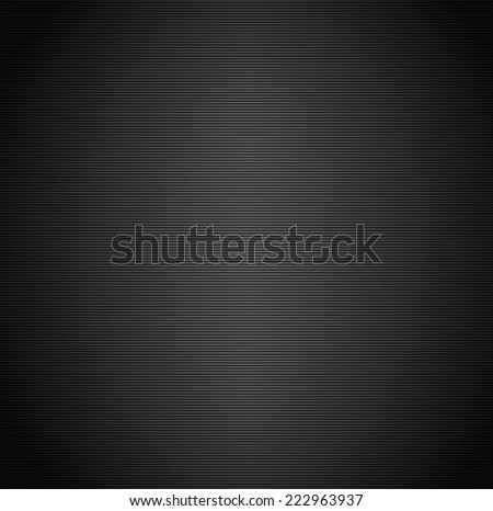 Shaded background with scanlines - #2 Thin horizontal lines - stock vector